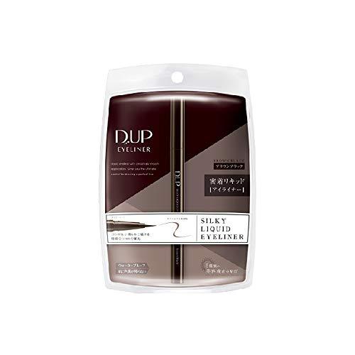 D.UP シルキーリキッドアイライナーWP ブラウンブラックの商品