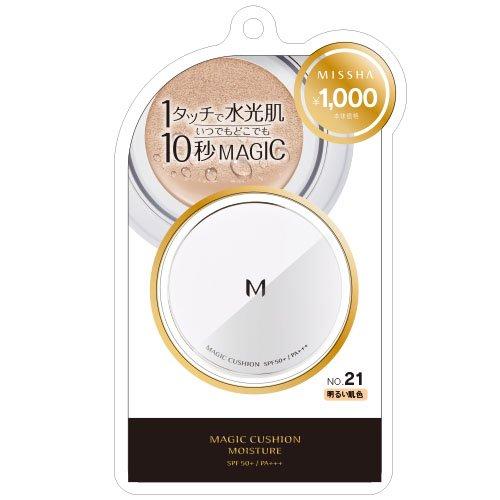 ミシャ Мクッションファンデーション(モイスチャー) #21 明るい肌色の商品