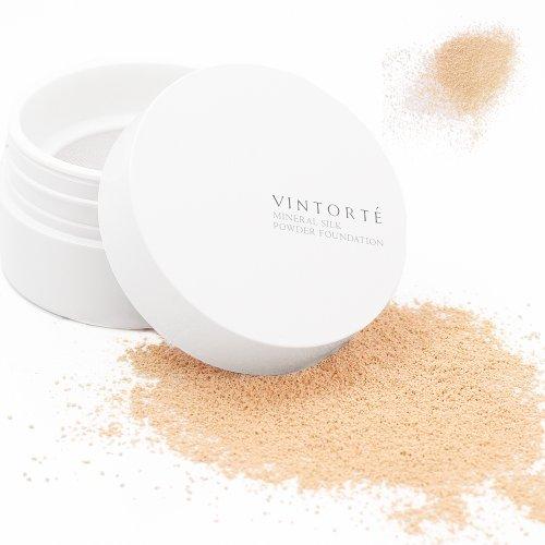 VINTORTE ミネラル シルク パウダーファンデーションの商品