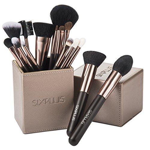 SIXPLUS 限定版 魅力のコーヒー色 メイクブラシ 15本セットの商品