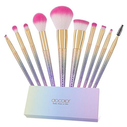 ドゥカラー Docolor 化粧筆 メイクブラシ 10本セットの商品