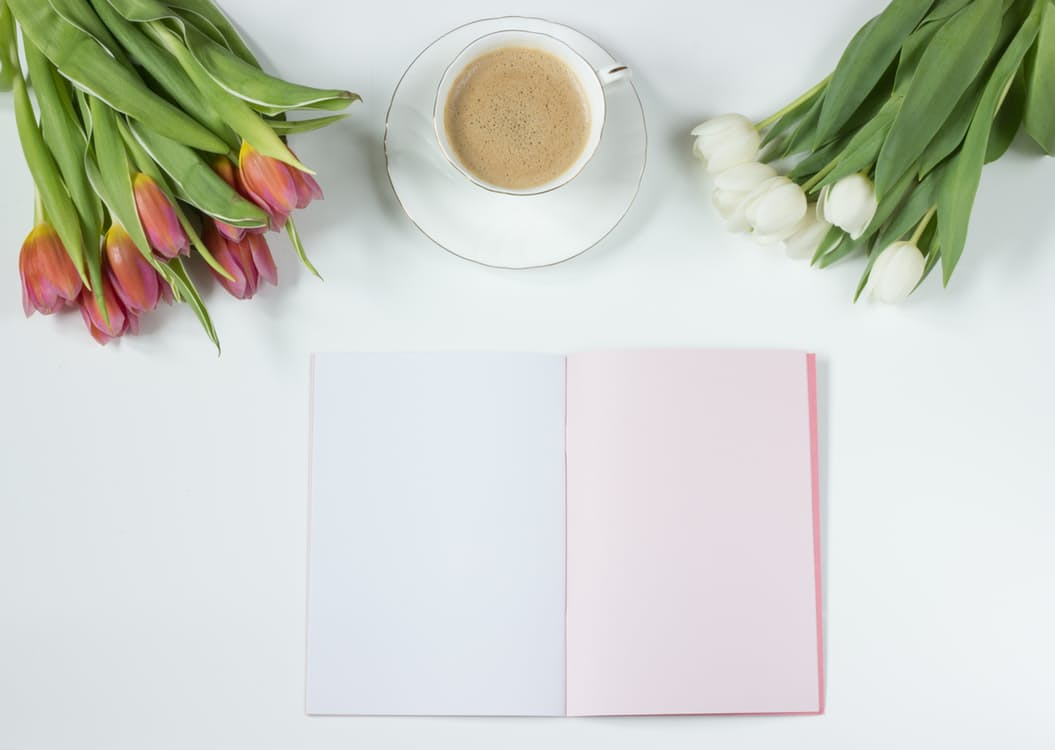 coffee-flowers-notebook-work-desk-163123