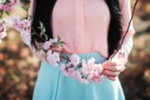 桜を満喫するにはファッションから♡おすすめお花見コーデ10選 アイキャッチ画像