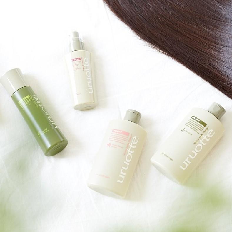 uruotteは優秀ヘアケア♡乾燥でパサパサする髪や頭皮をしっとりしなやかな髪へ アイキャッチ画像