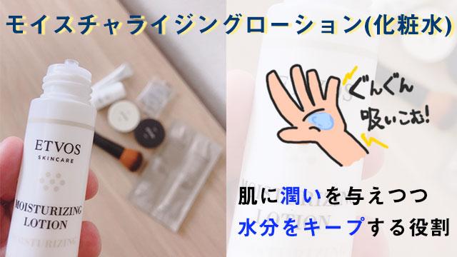 モイスチャライジングローション(化粧水)の写真