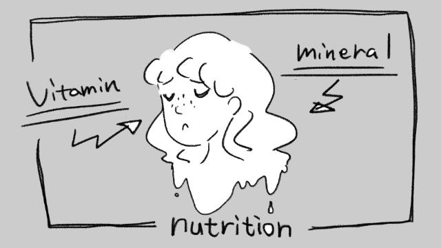 栄養の摂りすぎは肌荒れの元に