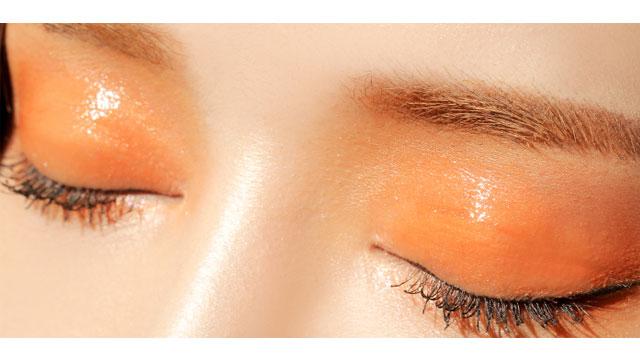tangerine-stain目元
