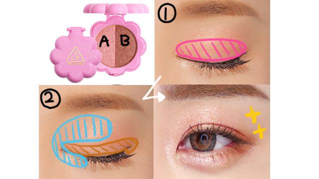 化粧の方法3