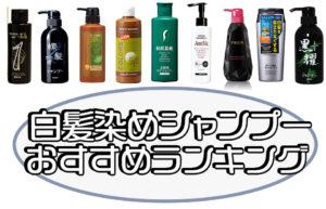 【美容師監修】白髪染めシャンプーおすすめランキング11選!口コミ人気と染毛テストで徹底比較! アイキャッチ画像
