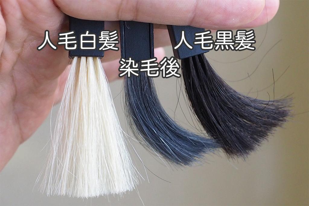 サロンドプロシャンプー染毛テスト結果