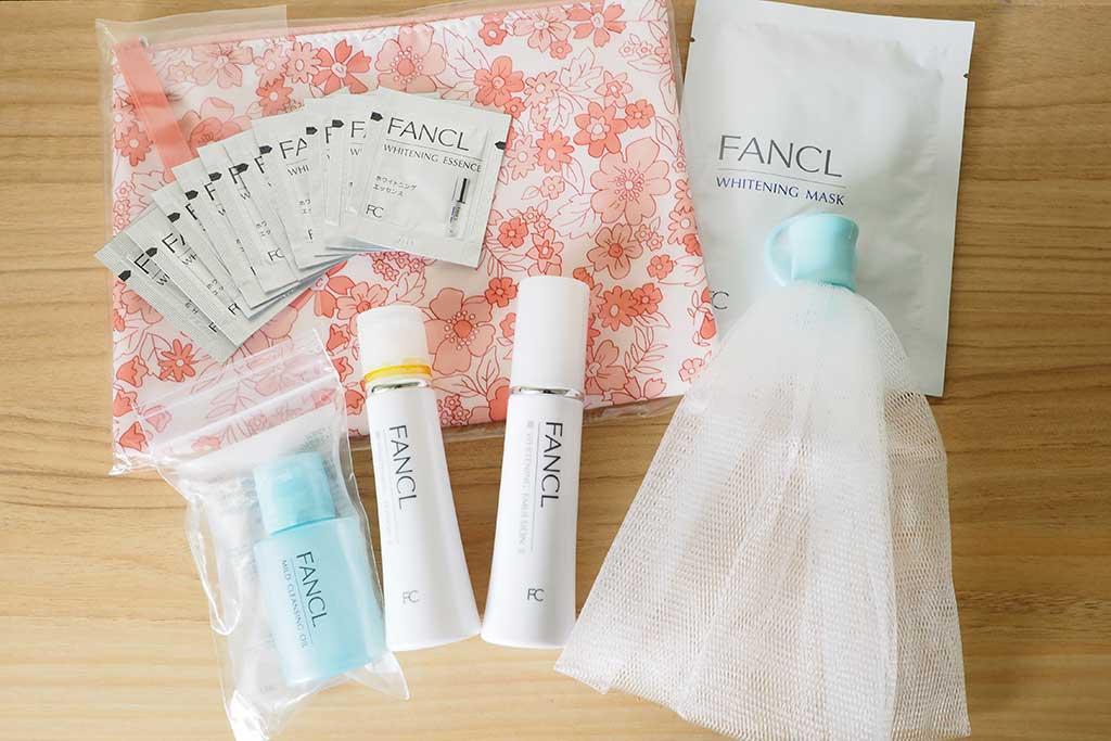 ファンケル ホワイトニング透明美白1ヶ月実感キットの商品